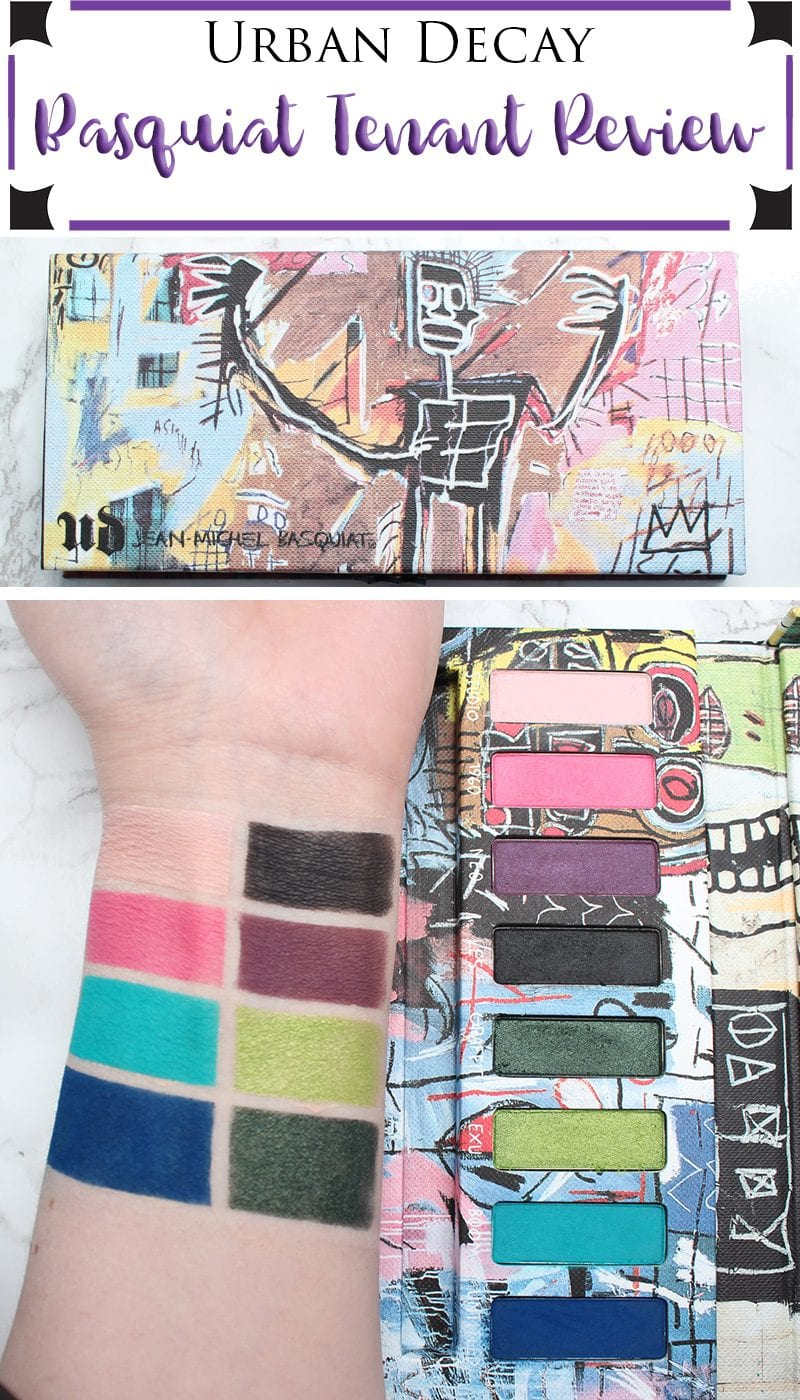 Urban Decay Basquiat Tenant Palette Review, Looks, Tutorials & Swatches on Pale Skin. This is an awesome bright eyeshadow palette with mostly matte eyeshadows. You can create gorgeous tropical looks!