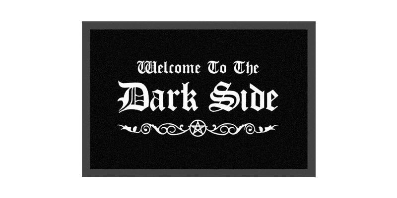 Dark Side Welcome Mat