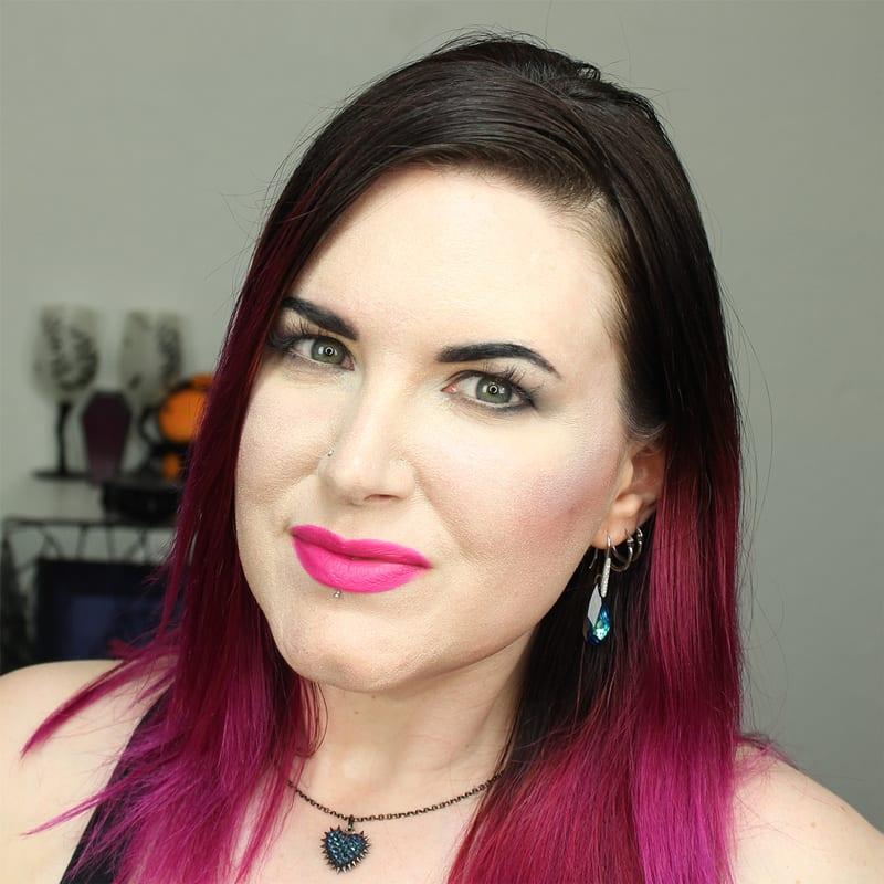 Cruelty-Free Makeup Tutorial   Wearing Bare Minerals Shameless Statement Matte Liquid Lipcolor