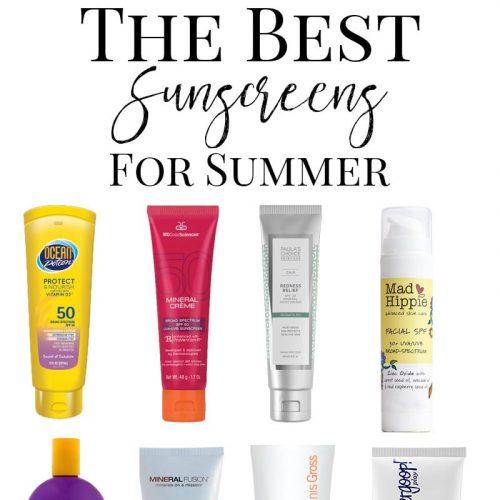 Sunscreen: Top 10 Best Cruelty Free Sunscreens