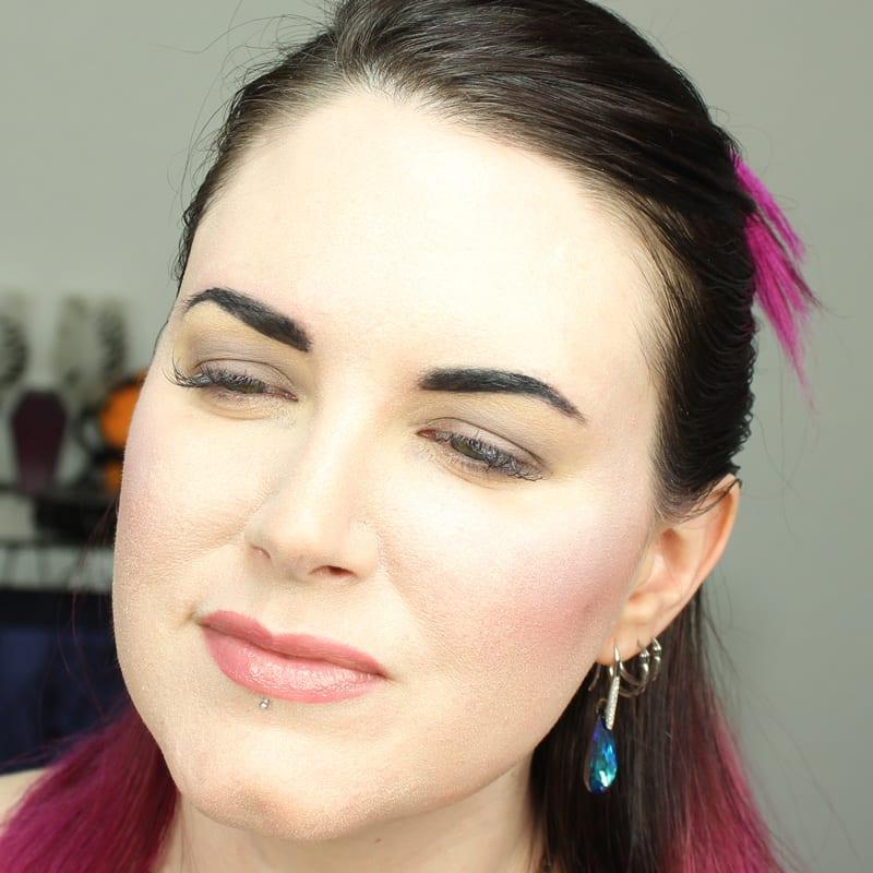 Cruelty-Free Makeup Tutorial | Wearing just Kat Von D Smoke Quad Base shade