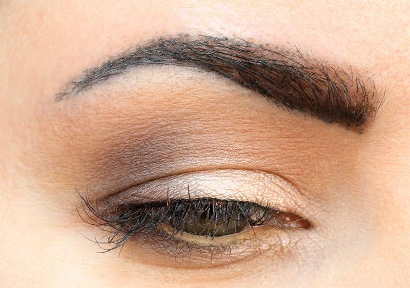 Flower Beauty Cool Natural Palette Eyeshadow Cruelty-Free Look