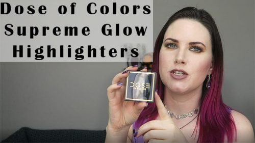 Dose of Colors Supreme Glow Highlighters