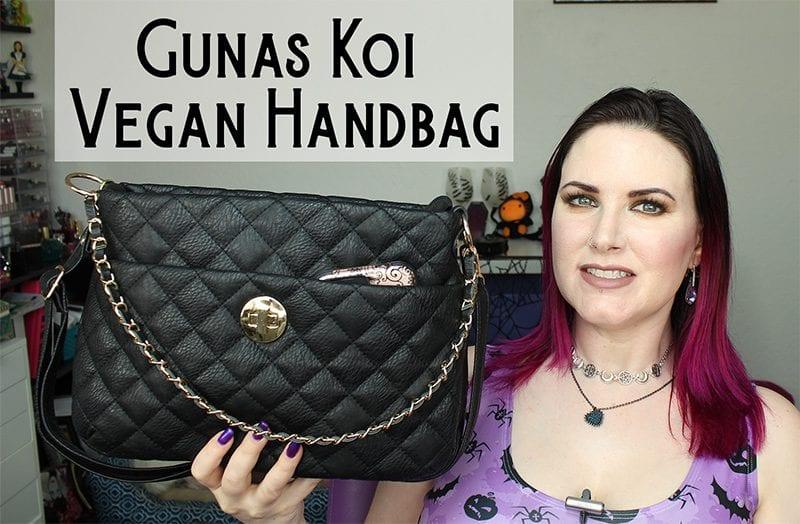 Gunas Koi Vegan Luxury Handbag Review