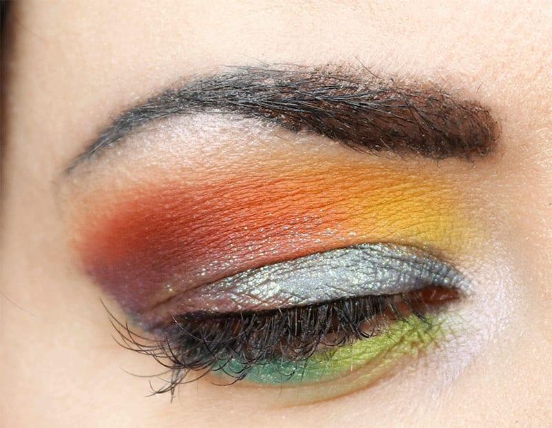 Chatty Grwm Gay Pride Makeup Tutorial On Hooded Eyes And Pale Skin