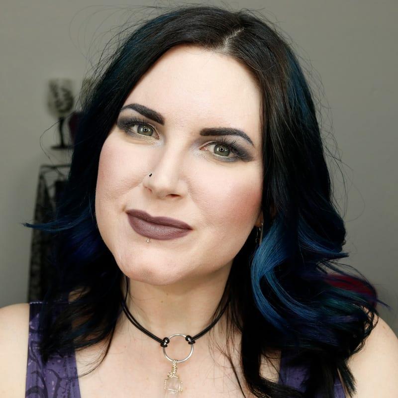 Makeup Geek Misfit on Pale Skin