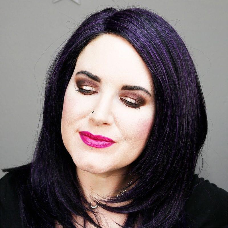 Wearing Urban Decay After Dark Lipstick
