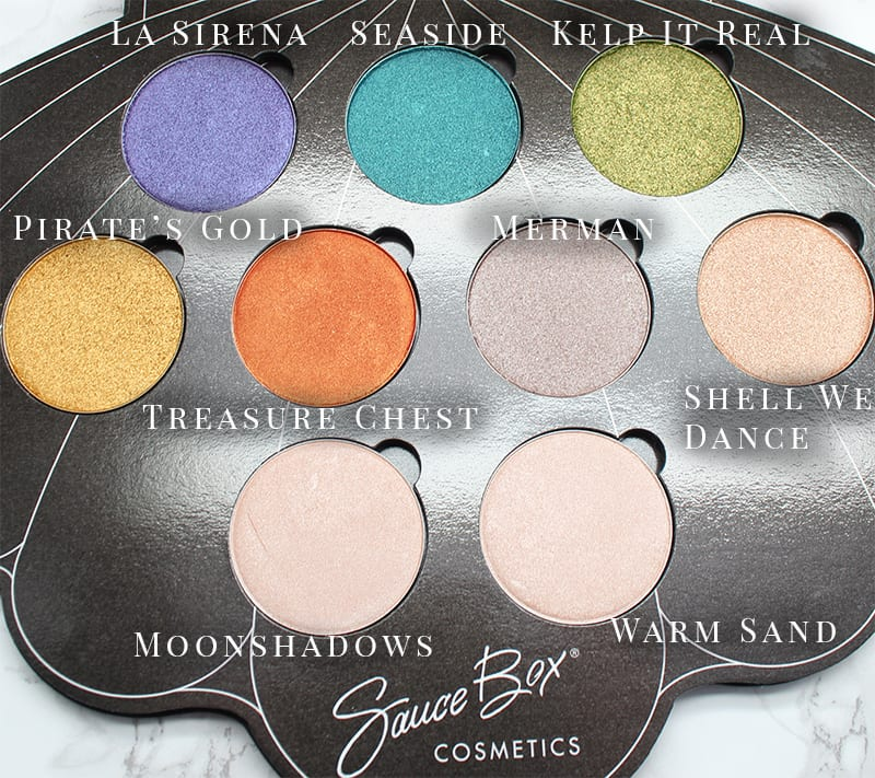 Saucebox Mermaid Life Eyeshadows
