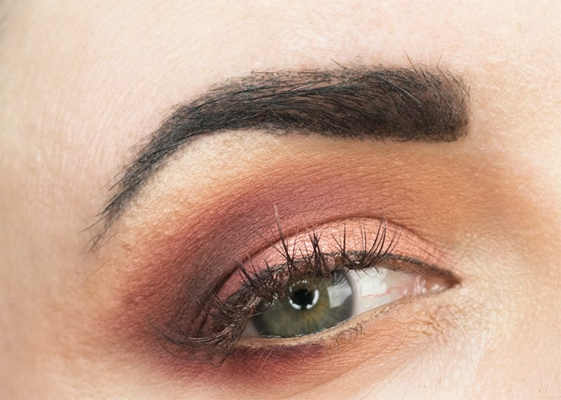 Wearing the Urban Decay Naked Heat Palette