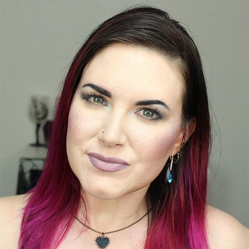 Cruelty-Free Makeup Tutorial   Wearing Sugarpill Kim Chi Lipstick