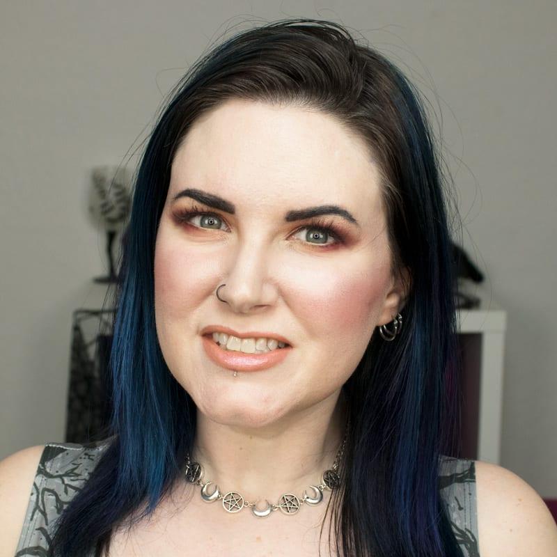 Wearing Urban Decay Alice Lipstick