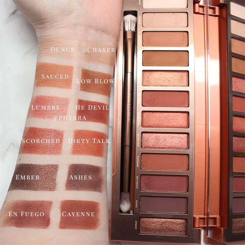 Naked Heat Eyeshadow Palette by Urban Decay #4
