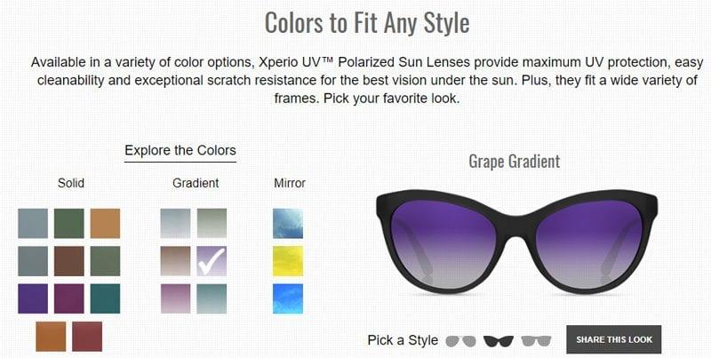 Xperio Color Selector