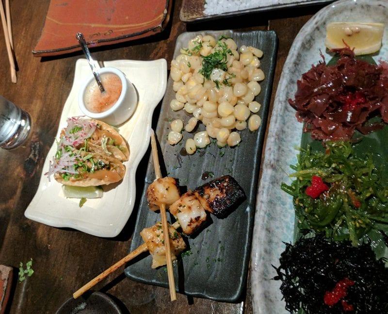 Appetizers at SushiSamba