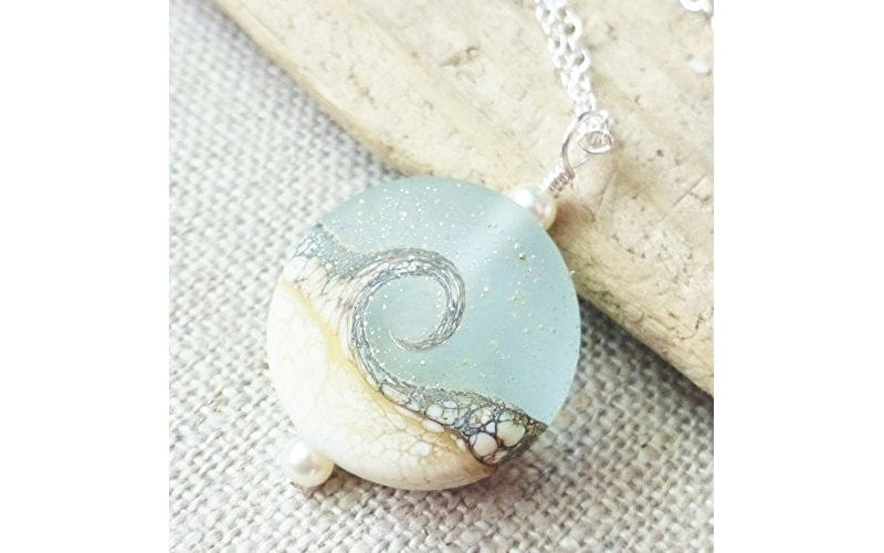Beach Wave Necklace