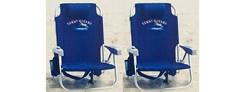 Tommy Bahama Backpack Cooler Beach Chairs