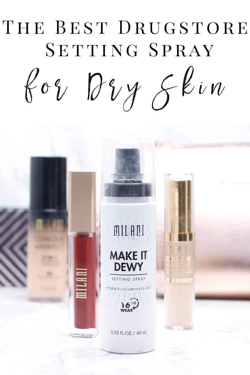 Milani Make It Dewy Setting Spray Review And Looks