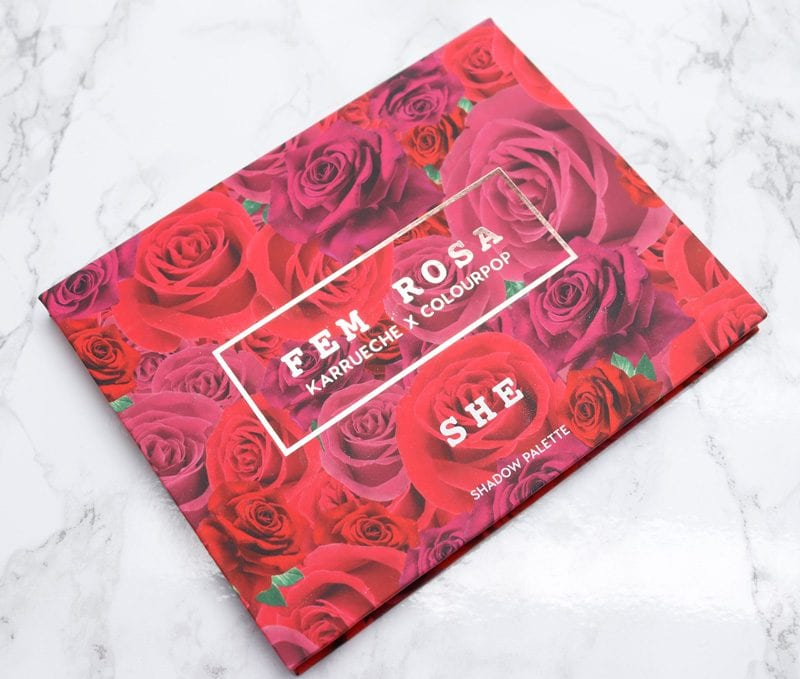 Colour Pop She Palette Review Amp Swatches Of Metallic Rosy