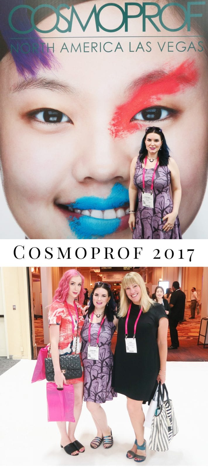 Cosmoprof 2017 Convention Experience - This was my first Cosmoprof and I had an amazing time! I went to Cosmoprof to learn about upcoming new and innovative products, to network with brands and bloggers, and build relationships with brands.