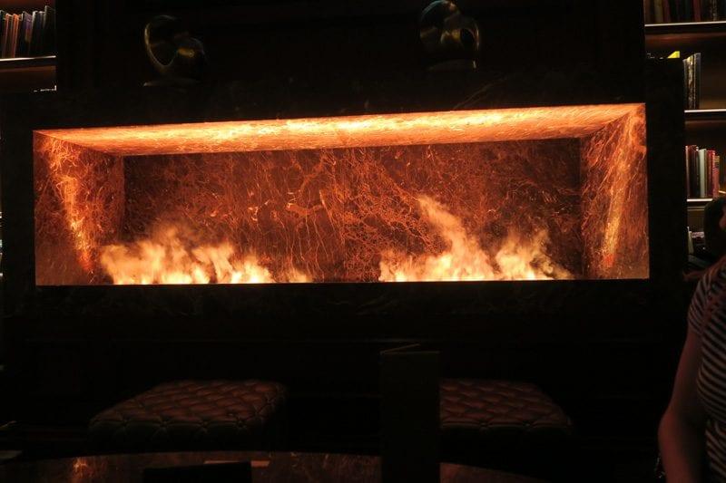 The Dorsey Las Vegas Steam Fireplace
