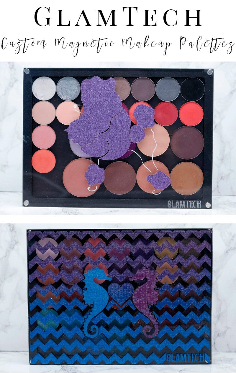 GlamTech Magnetic Makeup Palettes - Awesome makeup palettes that you can customize any way you want! They're better than z-palettes!