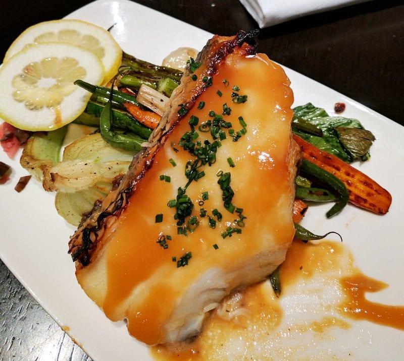 SushiSamba Sea Bass