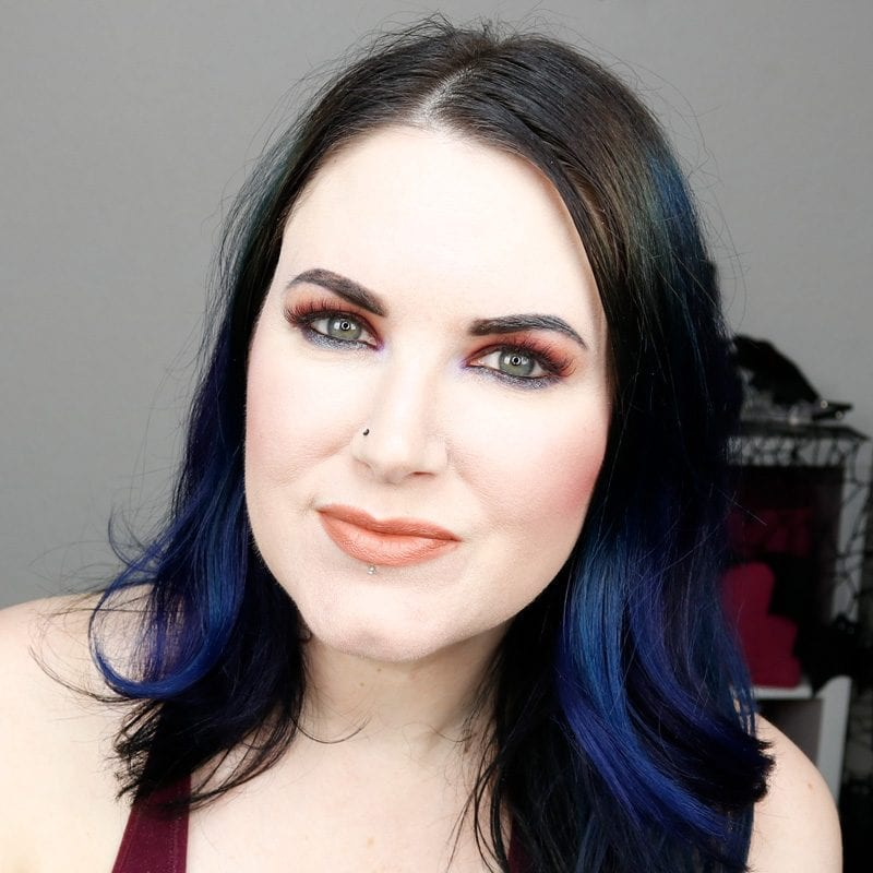 Urban Decay Naked Heat Alkaline Tutorial with Fuel on my lips