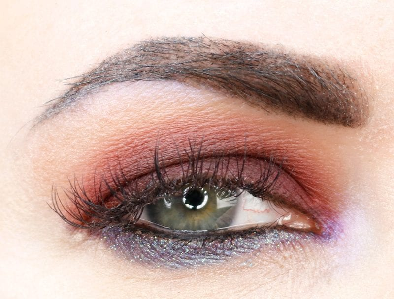 Urban Decay Naked Heat Alkaline Tutorial with Alkaline pencil and Crux Moondust