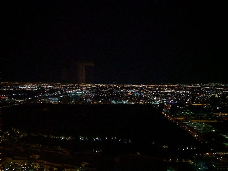 Palazzo Vegas By Night View