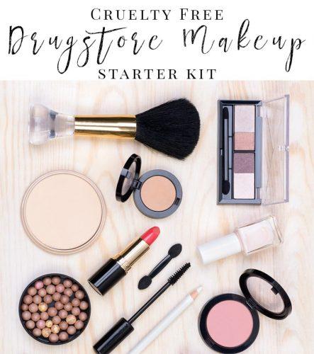 Cruelty Free Drugstore Makeup Starter Kit