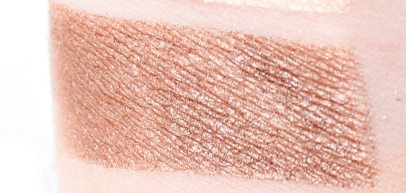 Kat Von D Shade + Light Glimmer Copper swatch