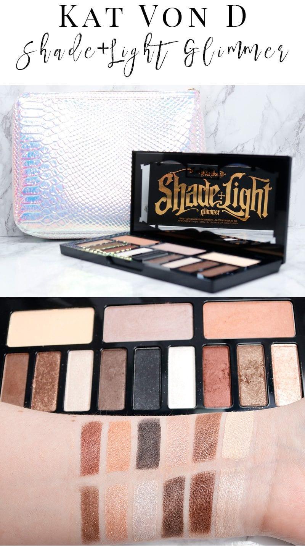 Kat Von D Shade Light Glimmer Eye Palette Review