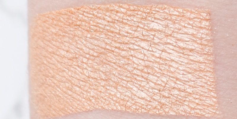 Makeup Geek Rapunzel swatch