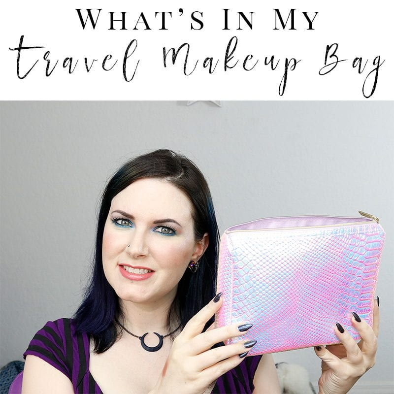 What's in My Travel Makeup Bag - Los Angeles. Here's how I pack efficiently for my trip to LA.