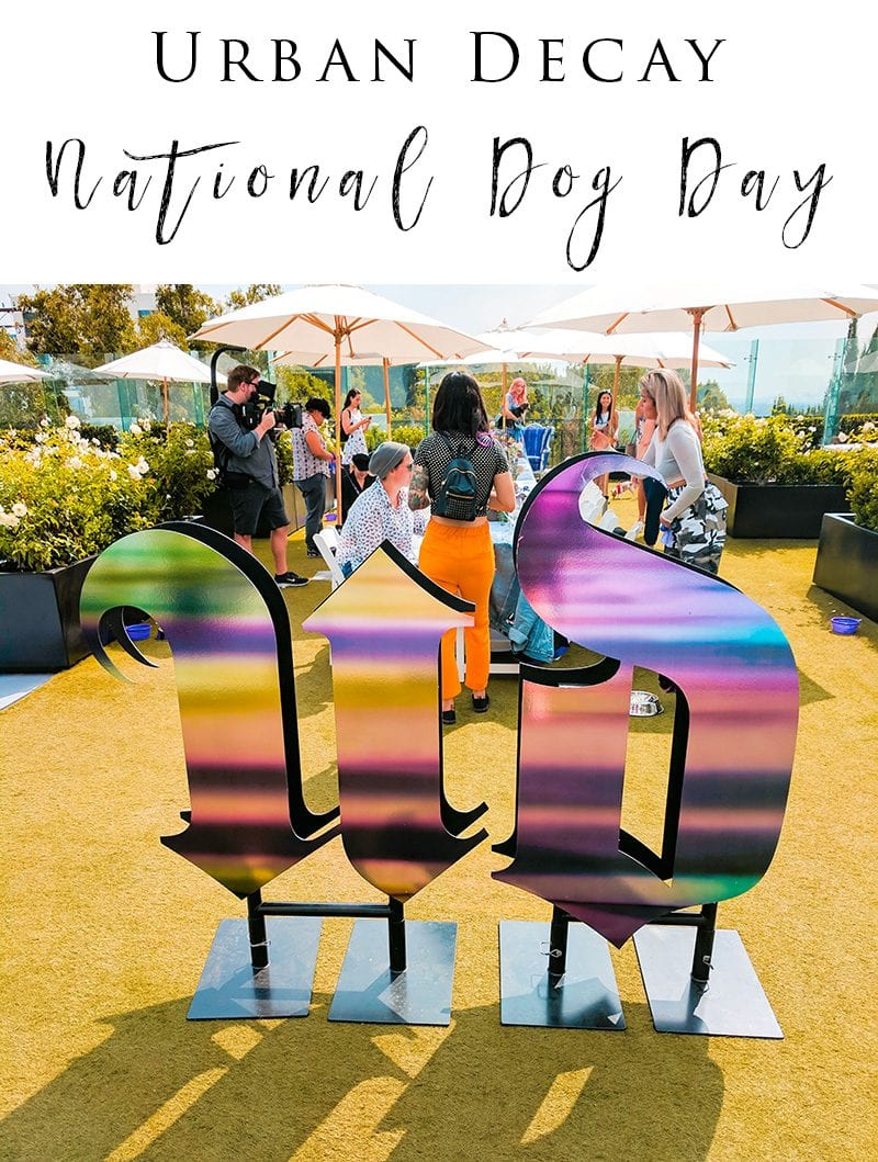 Urban Decay National Dog Day Event in LA #pets #lifestyle