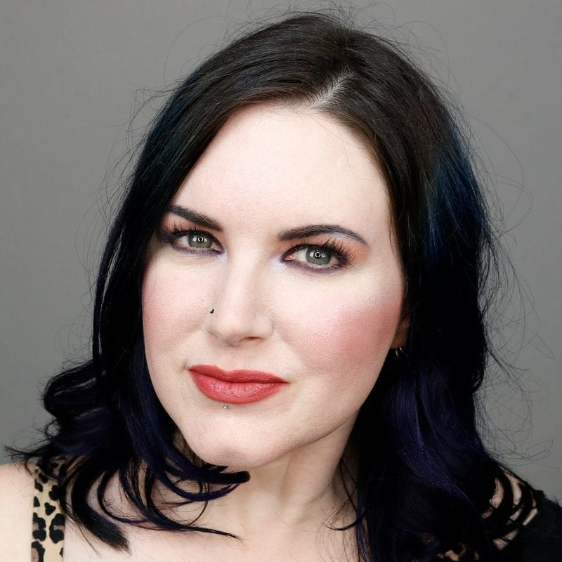 Wearing Kat Von D Lolita Lipstick