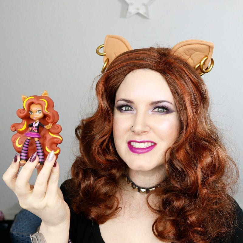 Monster High Clawdeen Wolf Makeup Tutorial