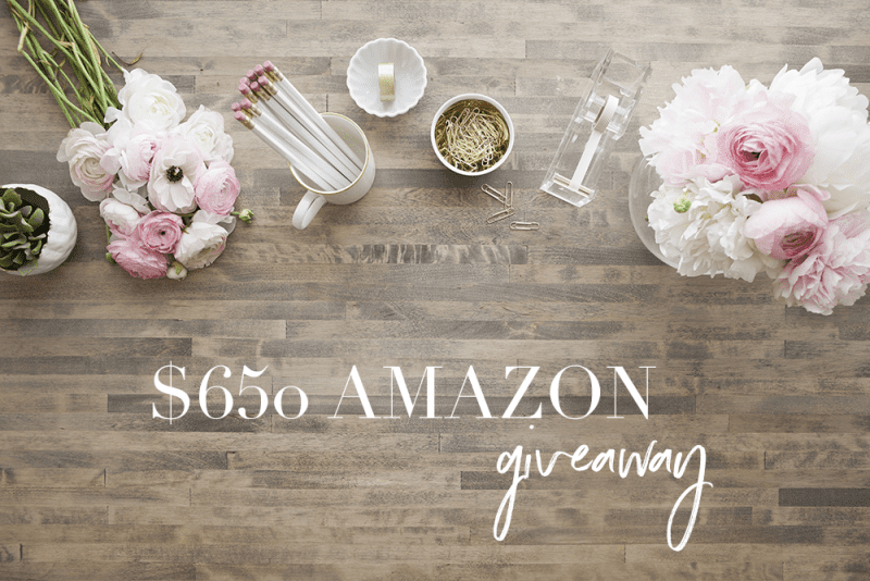 $650 Gift Card Giveaway
