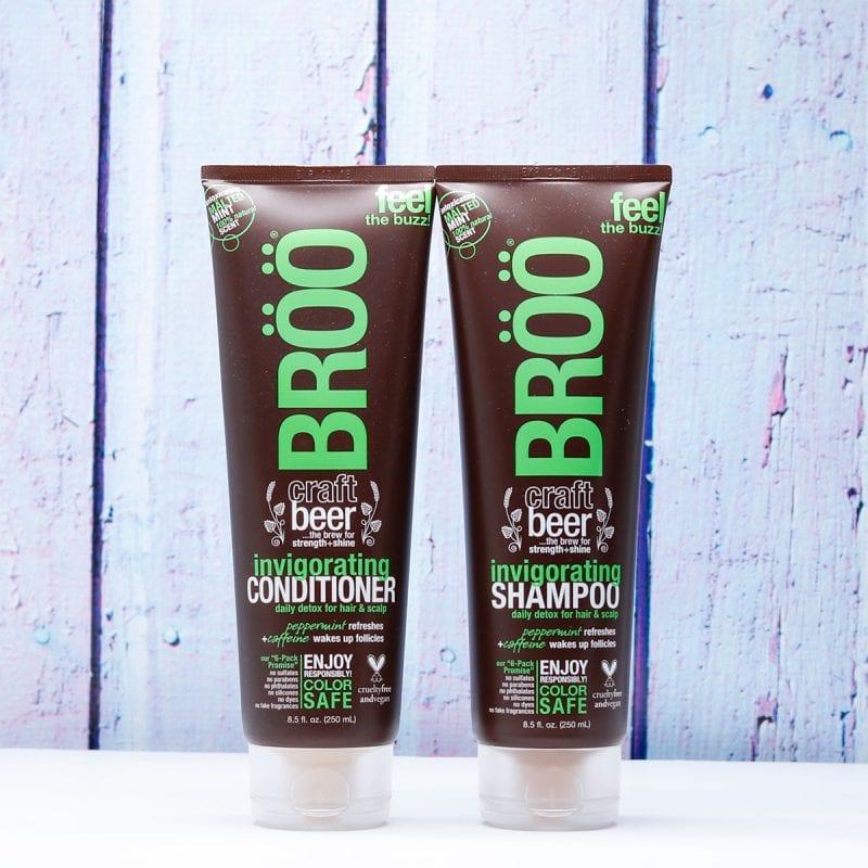 BRÖÖ Invigorating Craft Beer Shampoo and Conditioner