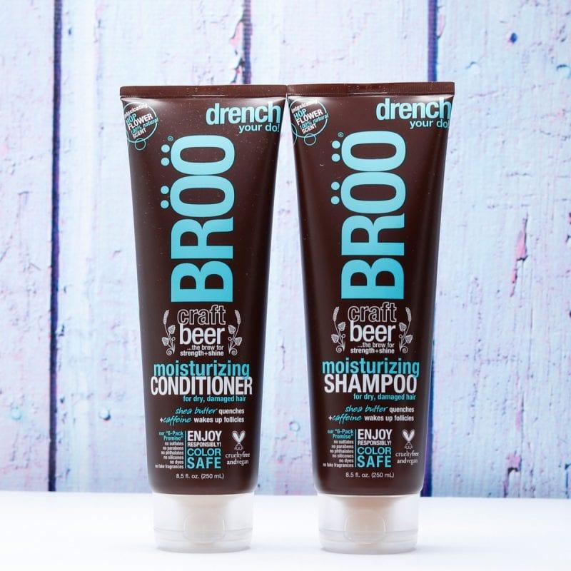 BRÖÖ Moisturizing Craft Beer Shampoo and Conditioner