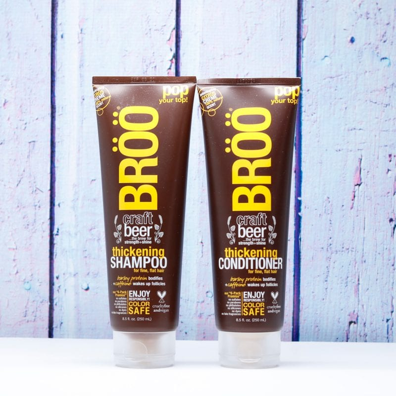 BRÖÖ Thickening Craft Beer Shampoo and Conditioner