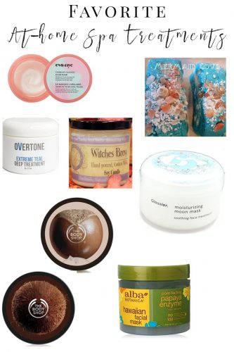 Favorite At-Home Spa Treatments