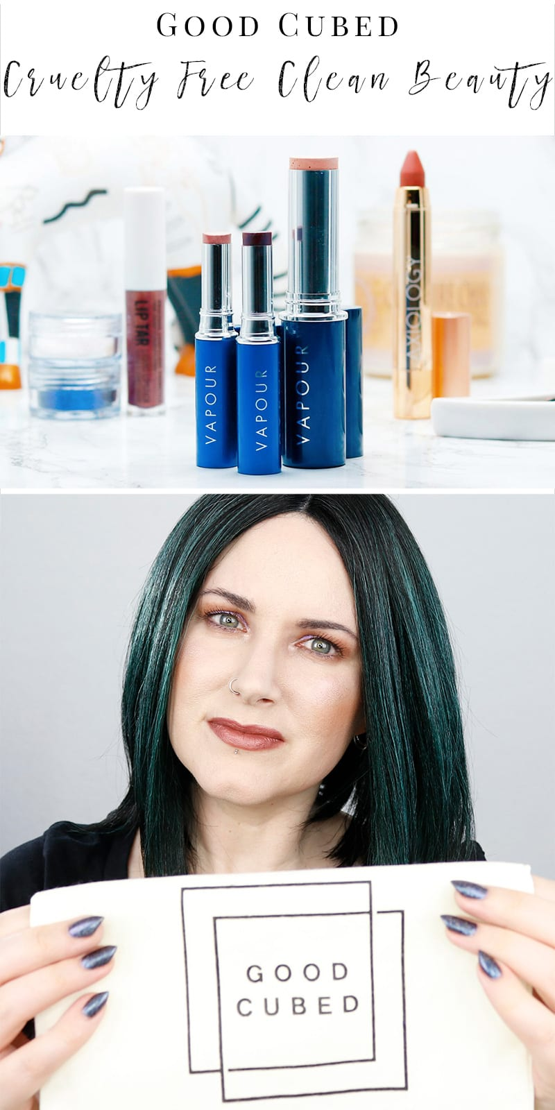 Good Cubed - A new clean online beauty shop that sells cruelty free, paraben free, sulfate free, gluten free, palm oil free products. They give back a portion of all sales to the Beagle Freedom Project.