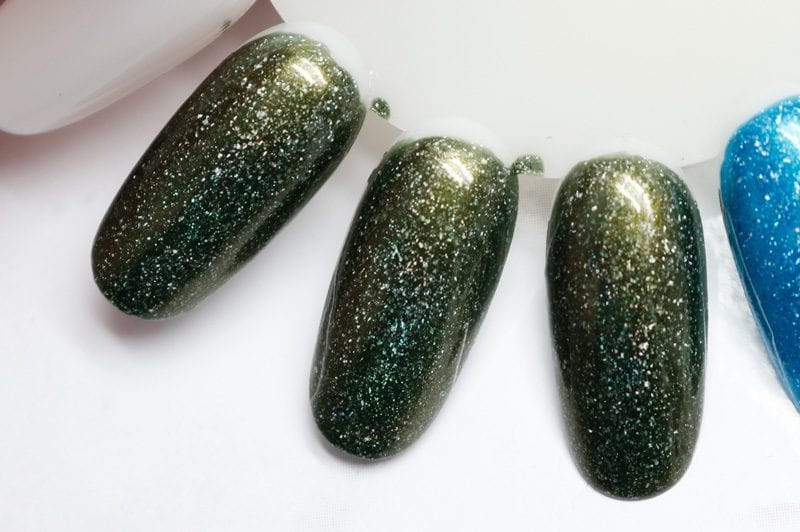 KBShimmer Olive or Twist swatch