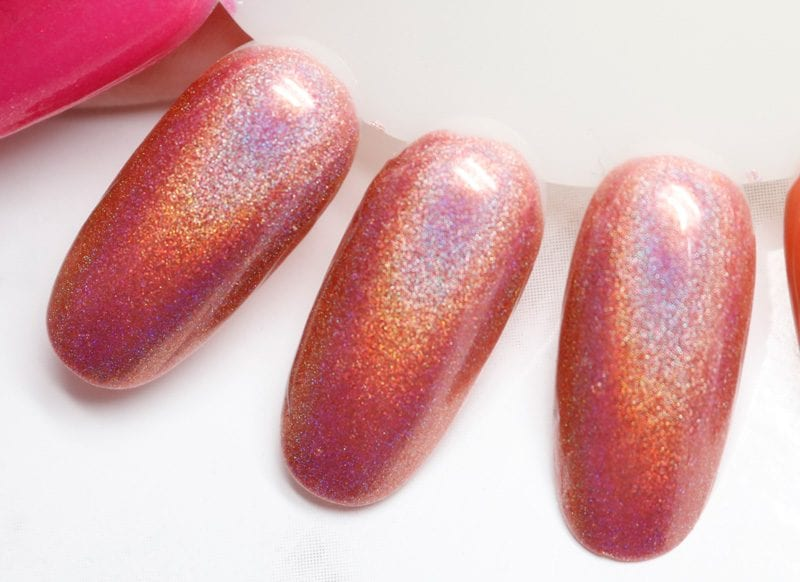 KBShimmer Stop and Smell the Rose swatch