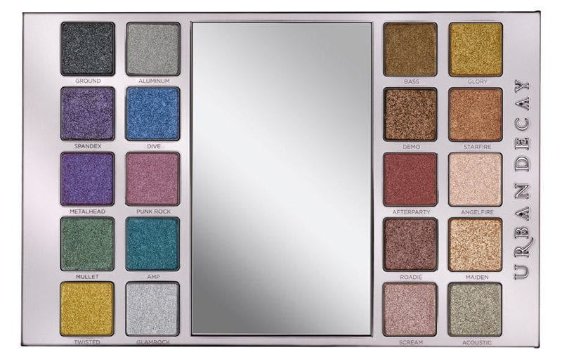 Urban Decay Heavy Metals Palette