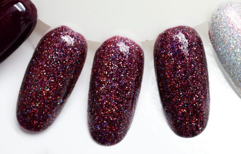 KBShimmer Lady and the Vamp swatch