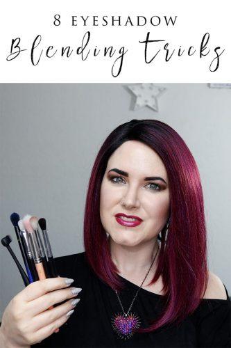 8 Tricks to Make Eyeshadow Blending Easier