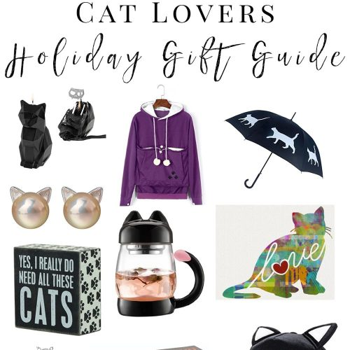 Cat Lovers Holiday Gift Guide