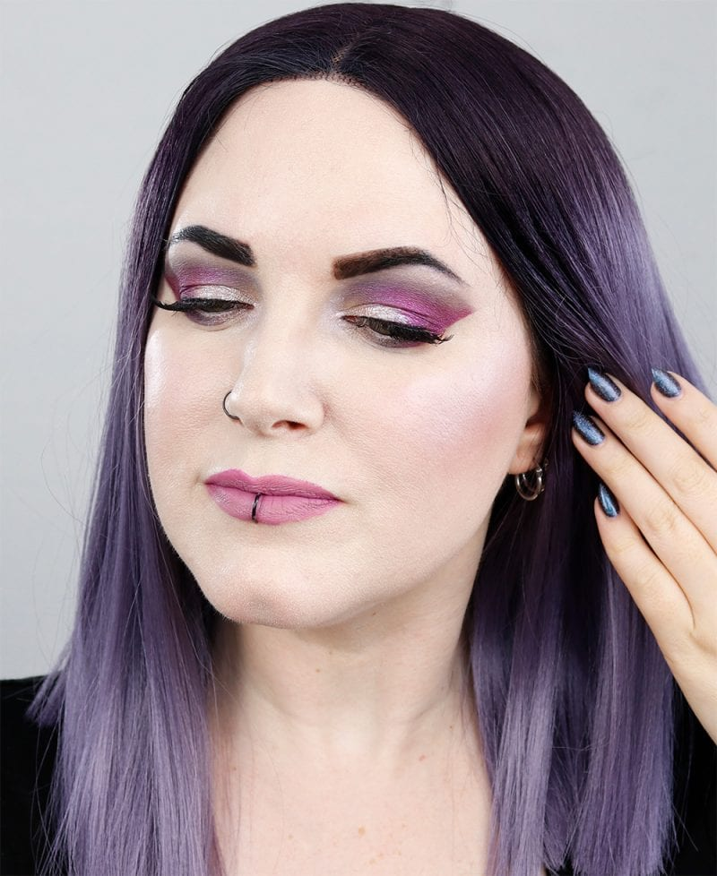 Coloured Raine Berry Cute Eyeshadow Tutorial